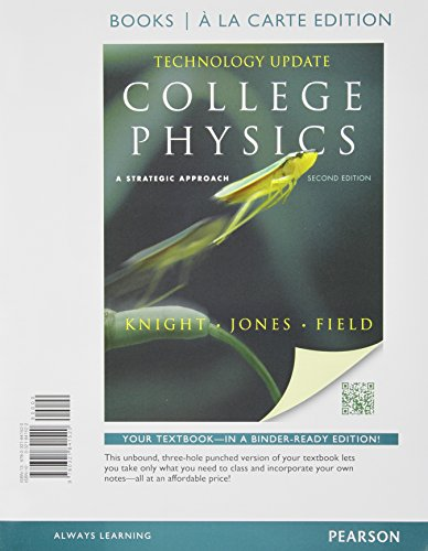 9780321841520: College Physics: A Strategic Approach Technology Update, Books a la Carte Edition (2nd Edition)