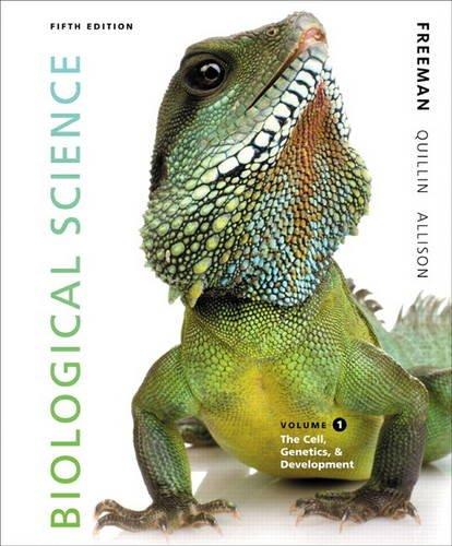 9780321841803: Biological Science Volume 1