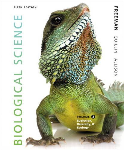 Biological Science Volume 2 (5th Edition): Freeman, Scott; Quillin,