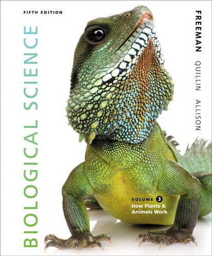9780321841827: Biological Science Volume 3 (5th Edition)