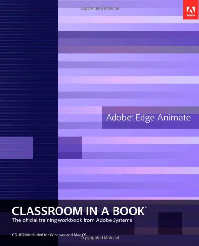 9780321842602: Adobe Edge Animate Classroom in a Book