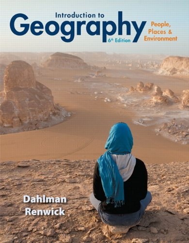 9780321843326: Introduction to Geography: People, Places & Environment Plus MasteringGeography with eText -- Access Card Package (6th Edition)