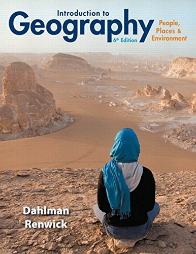 9780321843333: Introduction to Geography: People, Places & Environment (6th Edition)