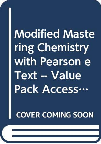 9780321843609: New MasteringChemistry with Pearson Etext -- Valuepack Access Card -- for Introductory Chemistry
