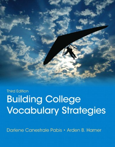 9780321844255: Building College Vocabulary Strategies (3rd Edition)