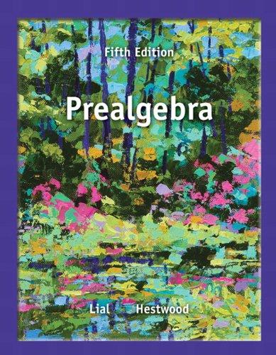 9780321845023: Prealgebra (5th Edition)