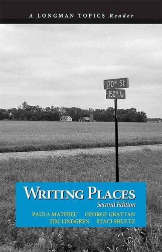 9780321845481: Writing Places (2nd Edition) (Longman Topics)