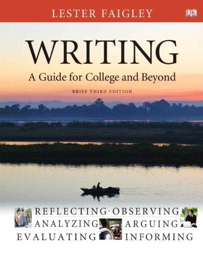 9780321845979: Writing: A Guide for College and Beyond, Brief Edition, with NEW MyCompLab with eText -- Access Card Package (3rd Edition)