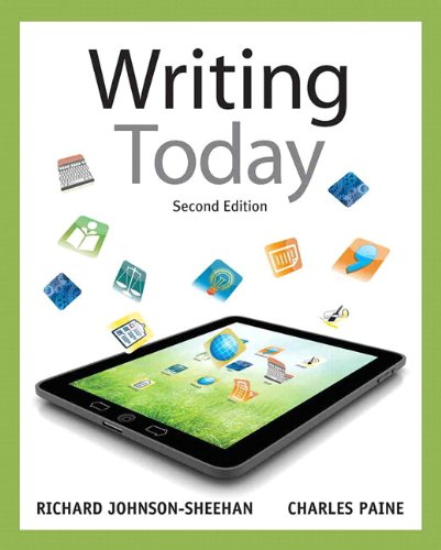9780321846099: Writing Today with NEW MyCompLab with eText -- Access Card Package (2nd Edition)