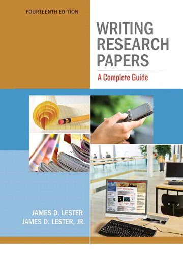 9780321846129: Writing Research Papers: A Complete Guide (spiral) with NEW MyCompLab with eText -- Access Card Package (14th Edition)