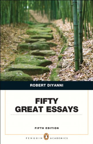 9780321848499: Fifty Great Essays (5th Edition) (Penguin Academics)