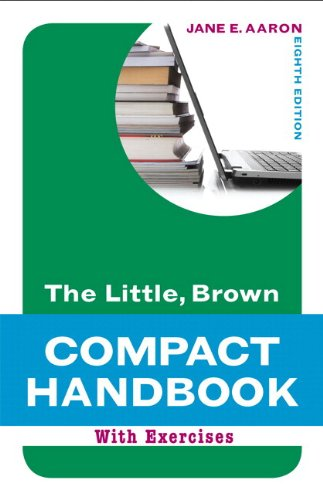 9780321850188: Little, Brown Compact Handbook with Exercises and MyWritingLab with Pearson eText (8th Edition)
