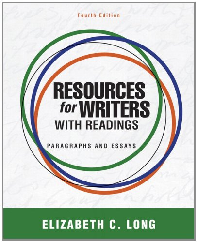 9780321850386: Resources for Writers with Readings Plus MyWritingLab -- Access Card Package (4th Edition)