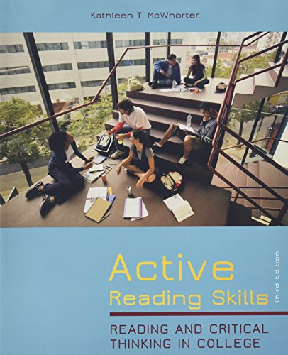 9780321850409: Active Reading Skills: Reading and Critical Thinking in CollegePlus NEW MyReadingLab with eText -- Access Card Package (3rd Edition)
