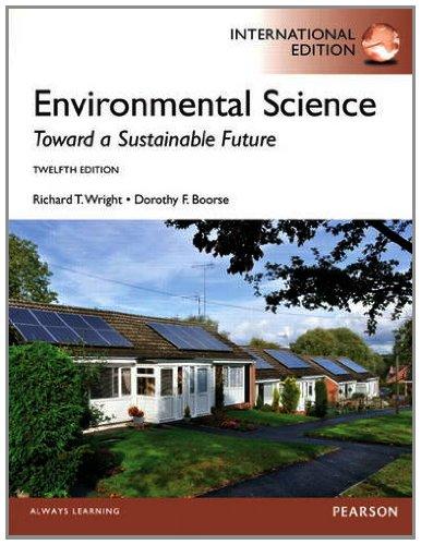 9780321851475: Environmental Science: Toward a Sustainable Future
