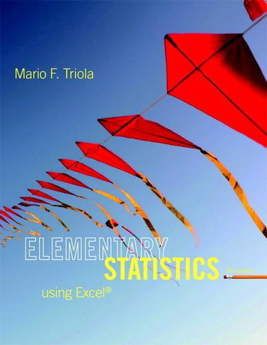 9780321851666: Elementary Statistics Using Excel (5th Edition)