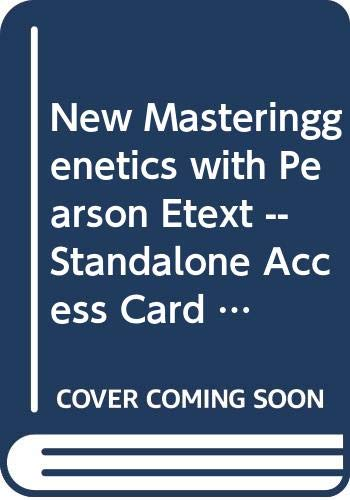9780321856456: Modified MasteringGenetics with Pearson eText -- Standalone Access Card -- for Essentials of Genetics (8th Edition)