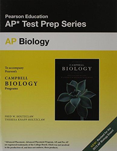 Preparing for the Biology AP Exam (School: Reece, Jane B.,
