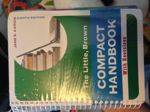9780321858399: Little, Brown Compact Handbook with Exercises & MyWritingLab Generic -- Valuepack Access Card Package