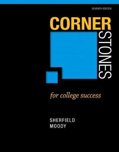 9780321860477: Cornerstones for College Success (7th Edition)