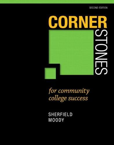 9780321860590: Cornerstones for Community College Success (2nd Edition)