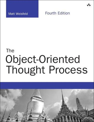 9780321861276: The Object-Oriented Thought Process (4th Edition) (Developer's Library)