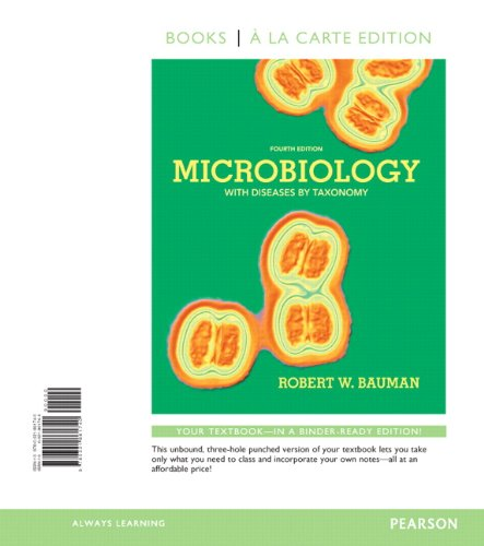 9780321861740: Microbiology with Diseases by Taxonomy, Books a la Carte Edition (4th Edition)