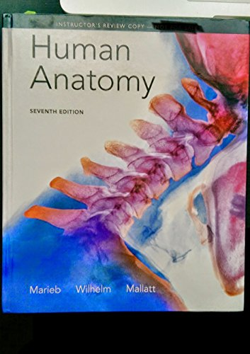9780321862105: Instructor's Review Copy for Human Anatomy (text Component)