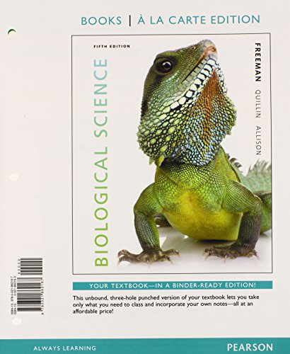 9780321862150: Biological Science with Student Access Code Card (Books a la Carte)