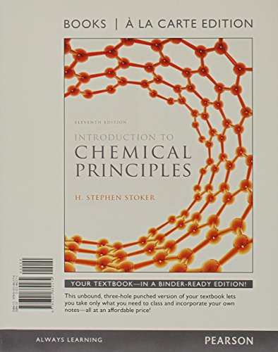 9780321862174: Introduction to Chemical Principles, Books a la Carte Edition (11th Edition)