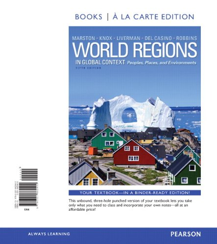 9780321862297: World Regions in Global Context: Peoples, Places, and Environments, Books a la Carte Plus MasteringGeography with eText -- Access Card Package (5th Edition)