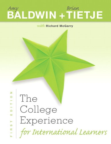 9780321863546: The College Experience for International Learners (Experience Franchise)
