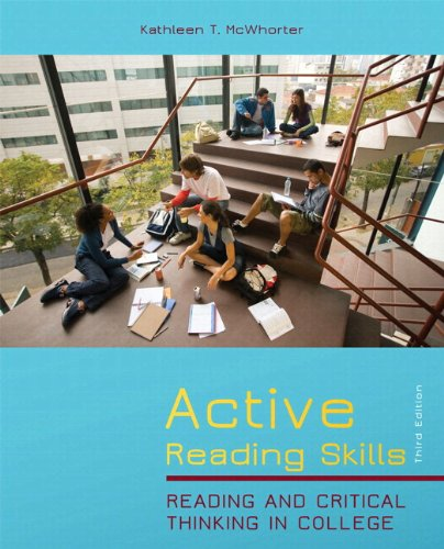 9780321864550: Active Reading Skills (with NEW MYREadingLab Student Access Code Card) (3rd Edition)