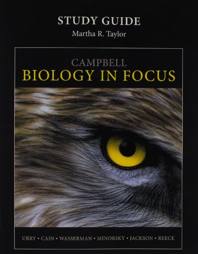 9780321864994: Study Guide for Campbell Biology in Focus