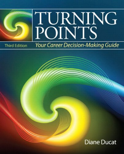 9780321865519: Turning Points: Your Career Decision Making Guide Plus NEW MyStudentSuccessLab 2012 Update -- Access Card Package (3rd Edition)