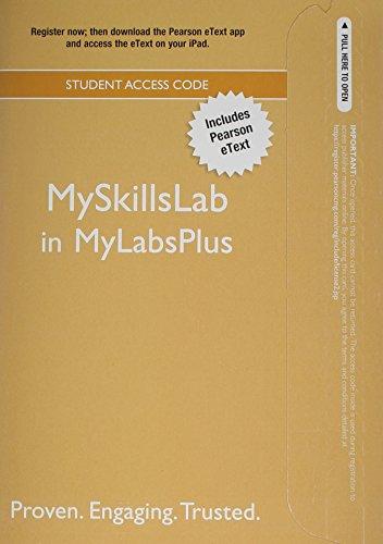 9780321865762: MySkillsLabPLUS with Pearson eText -- Standalone Access Card