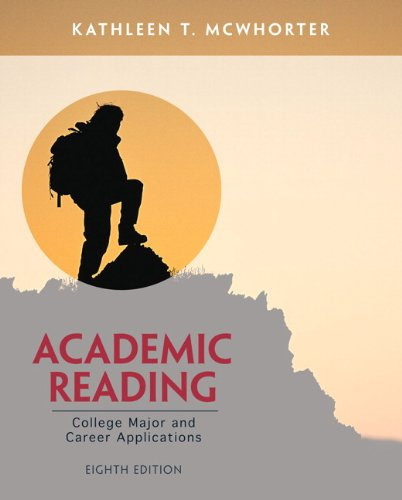 9780321865823: Academic Reading (8th Edition)