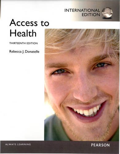 9780321866080: Access to Health: International Edition