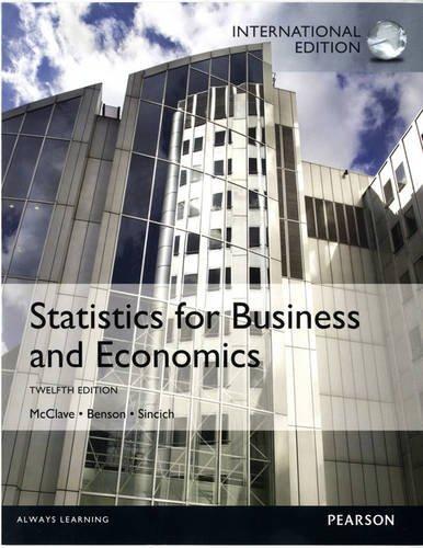 9780321866820: Statistics for Business and Economics
