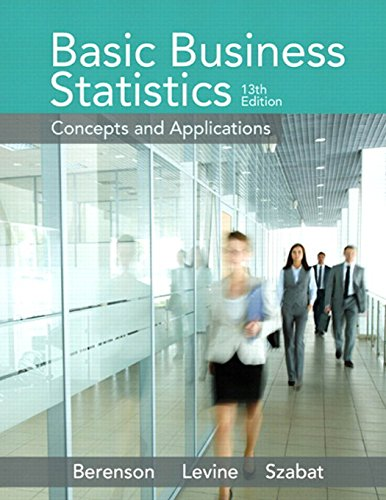 9780321870025: Basic Business Statistics (13th Edition)