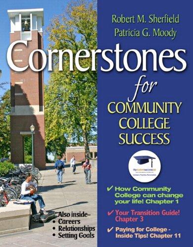 9780321871053: Cornerstones for Community College Success Plus NEW MyStudentSuccessLab 2012 Update -- Access Card Package (Cornerstones Franchise)