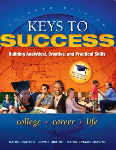 9780321871268: Keys to Success: Building Analytical, Creative, and Practical Skills Plus NEW MyStudentSuccessLab 2012 Update -- Access Card Package (7th Edition) (Keys Franchise)