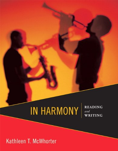 9780321871855: In Harmony: Reading and Writing