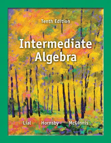9780321872180: Intermediate Algebra (10th Edition)