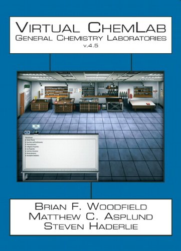 9780321875662: Virtual ChemLab: General Chemistry Student Workbook + CD v. 4.5 (4th Edition)