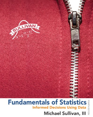 9780321876225: Fundamentals of Statistics Plus NEW MyStatLab with Pearson eText -- Access Card Package (4th Edition) (Sullivan, The Statistics Series)