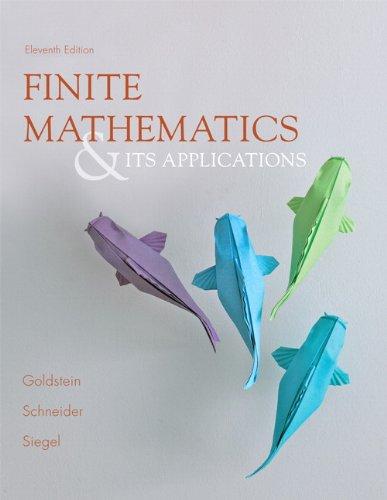 9780321878052: Finite Mathematics & Its Applications (11th Edition)