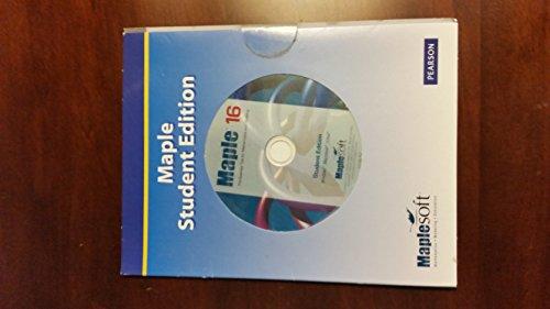 9780321879851: Maple 16, Student Edition