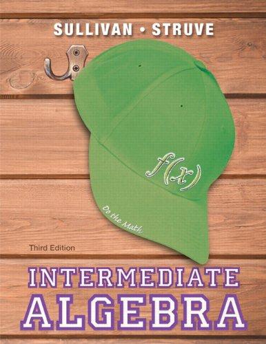 9780321880123: Intermediate Algebra (3rd Edition)