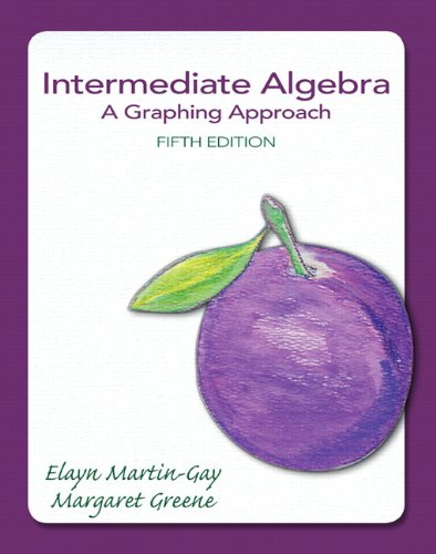 9780321880147: Intermediate Algebra: A Graphing Approach (5th Edition) (The Martin-Gay Developmental Algebra Series (hardbacks))
